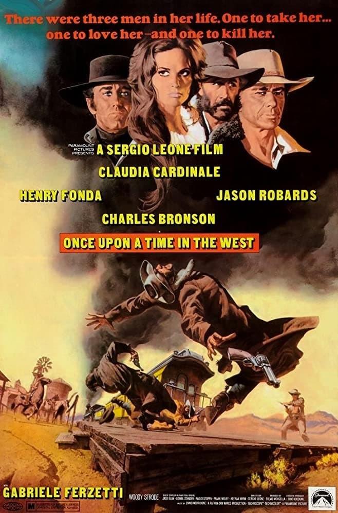 Постер фильма Однажды на Диком Западе C'era una volta il West 1968