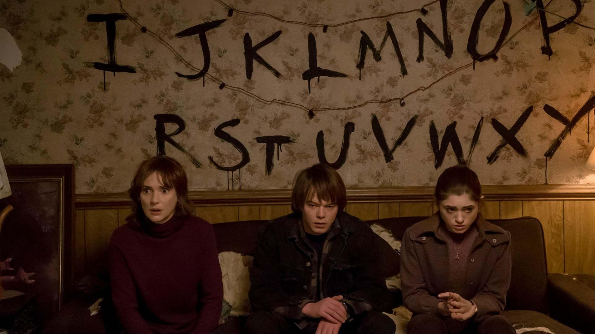 Кадры из фильма Очень странные дела Stranger Things 2016