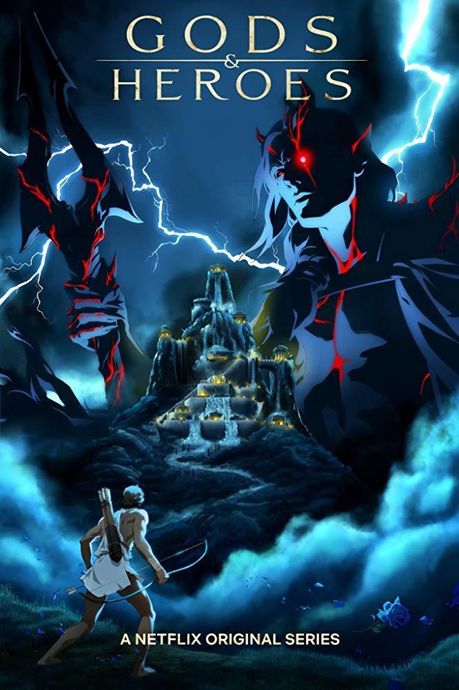 Постер фильма Боги и герои 2020