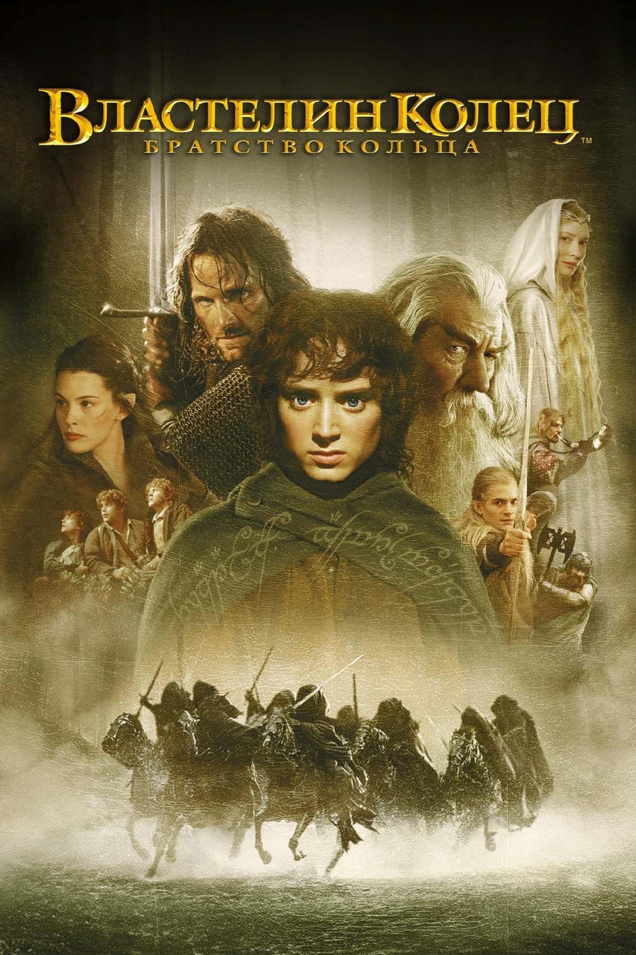 Постер фильма Властелин колец: Братство кольца 2001