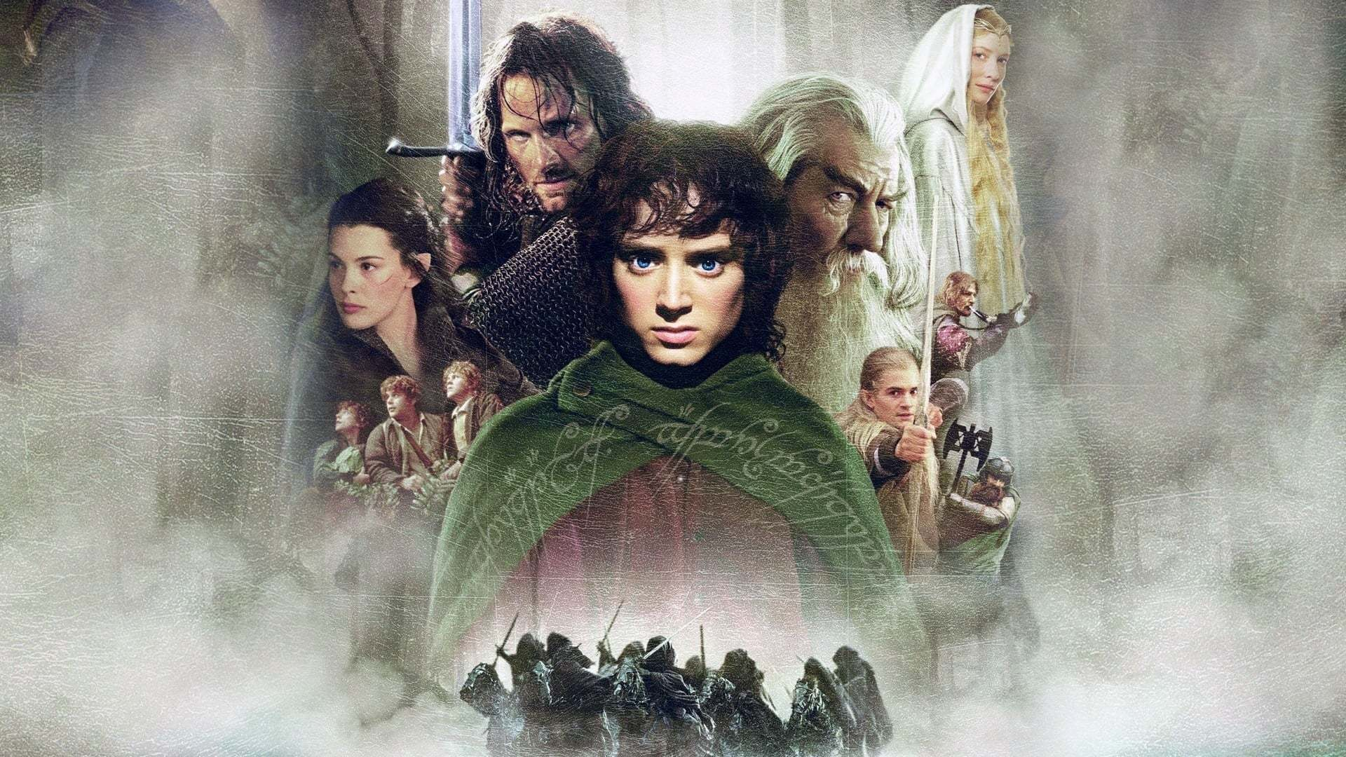 Кадры из фильма Властелин колец: Братство кольца The Lord of the Rings: The Fellowship of the Ring 2001