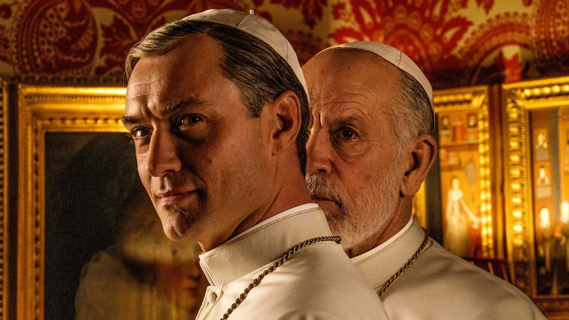Кадры из фильма Новый Папа The New Pope 2020