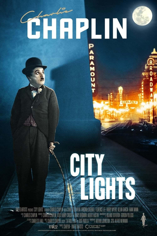 Постер фильма Огни большого города City Lights 1931