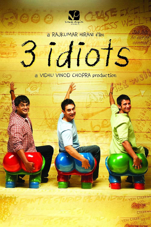 Постер фильма Три идиота 2009