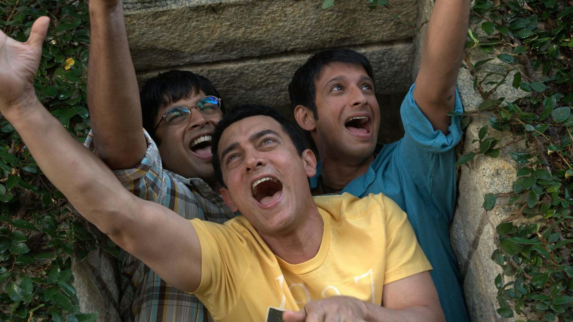 Кадры из фильма Три идиота 3 Idiots 2009