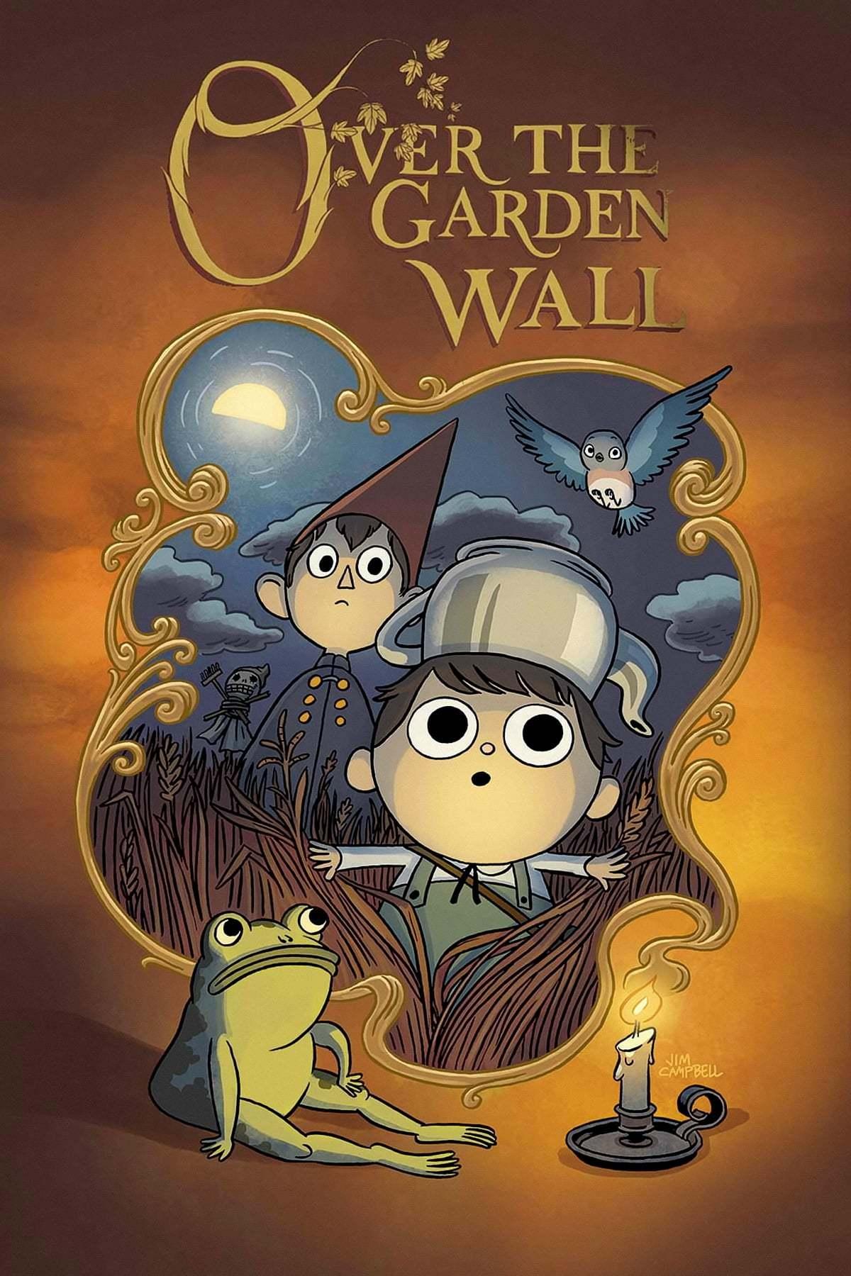 Постер фильма По ту сторону изгороди Over the Garden Wall 2014