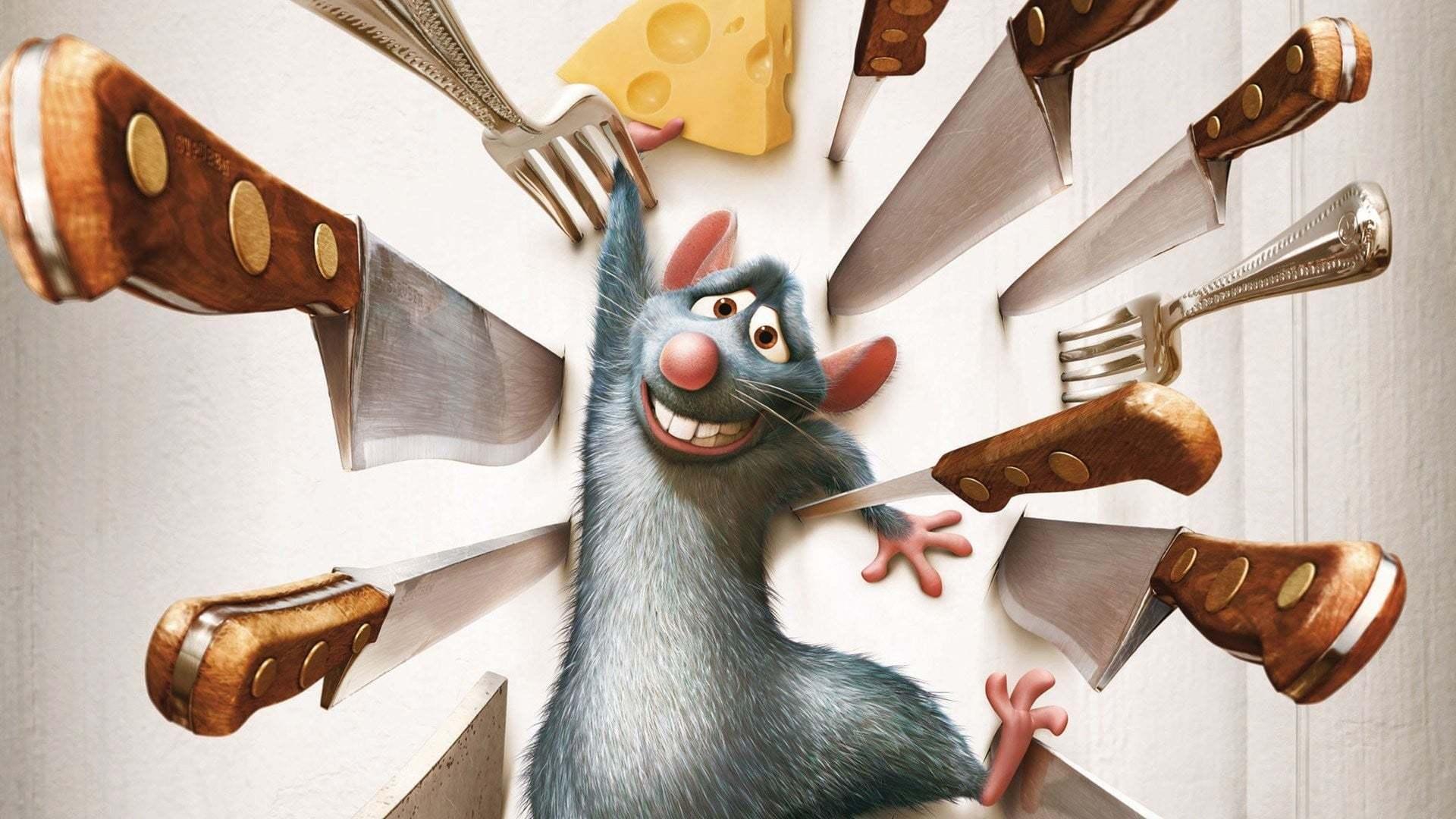 Кадры из фильма Рататуй Ratatouille 2007