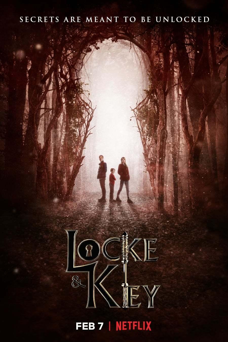 Постер фильма Замок и ключ Locke & Key 2020