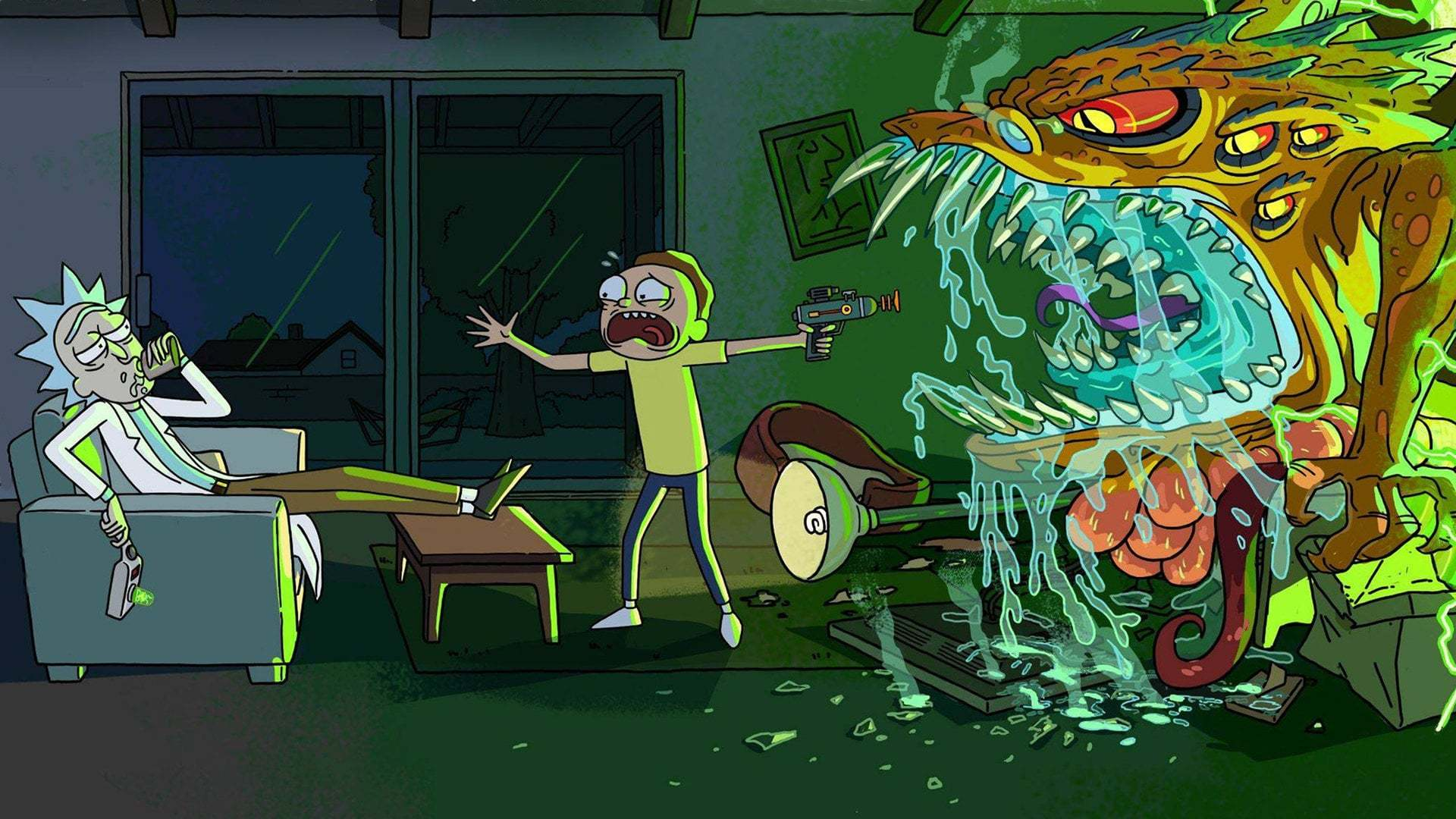 Кадры из фильма Рик и Морти Rick and Morty 2013