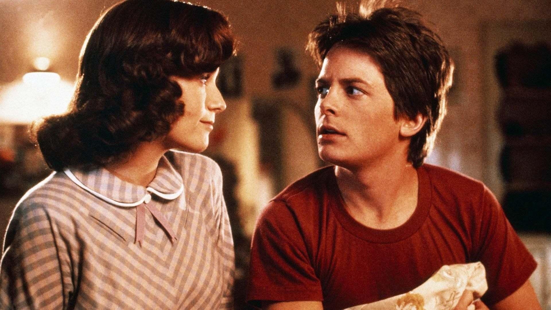 Кадры из фильма Назад в будущее Back to the Future 1985
