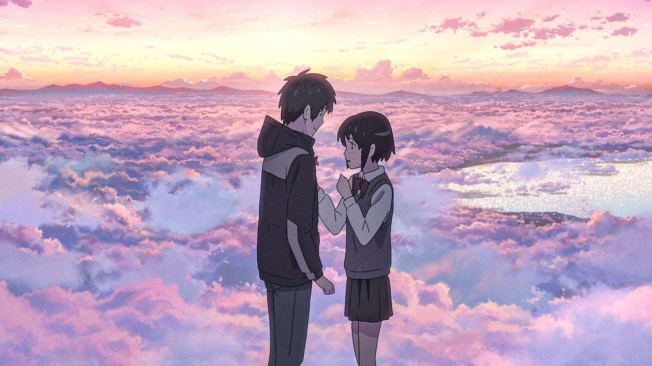 Кадры из фильма Твоё имя Kimi no na wa. 2016