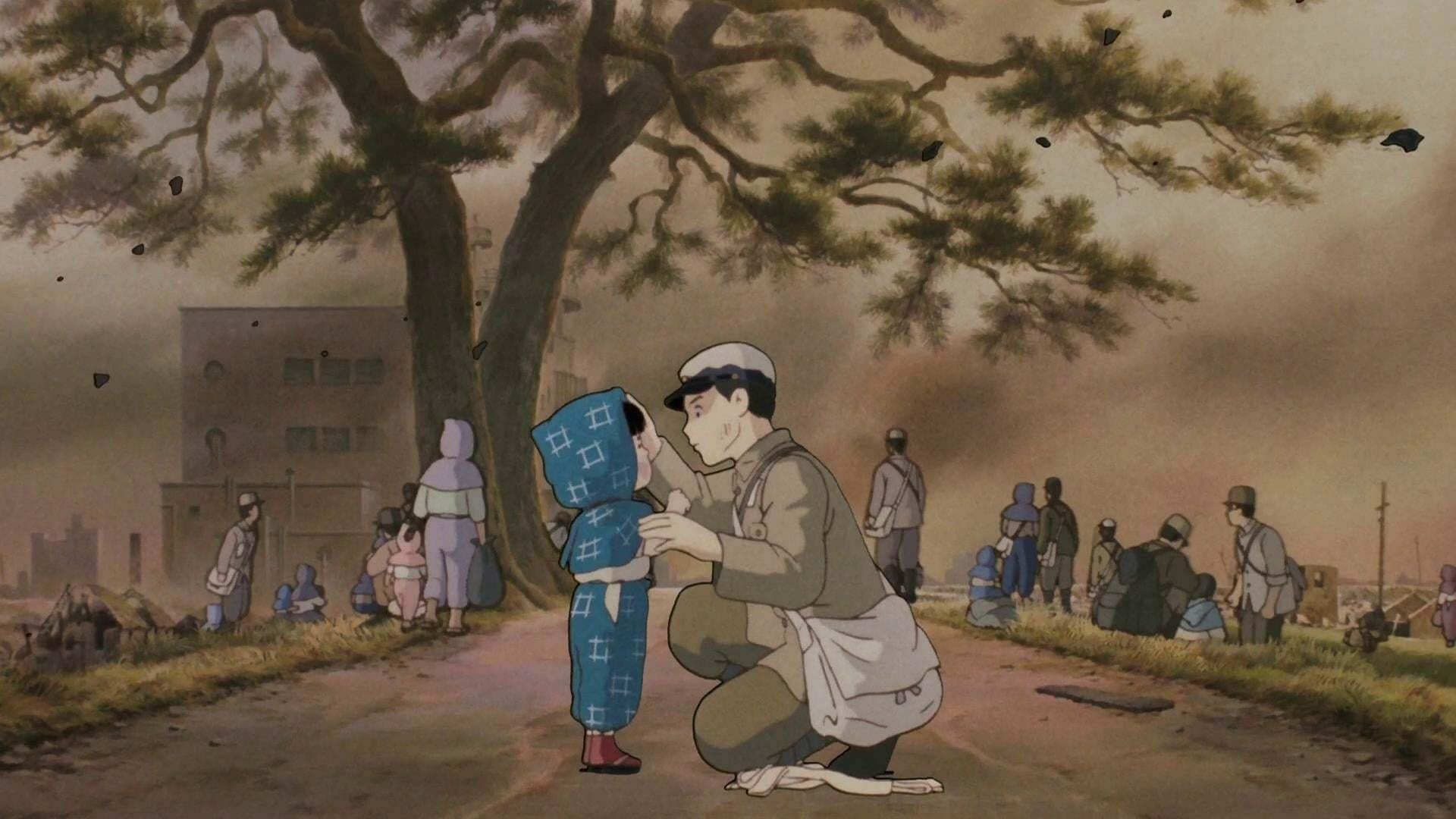 Кадры из фильма Могила светлячков Hotaru no haka 1988