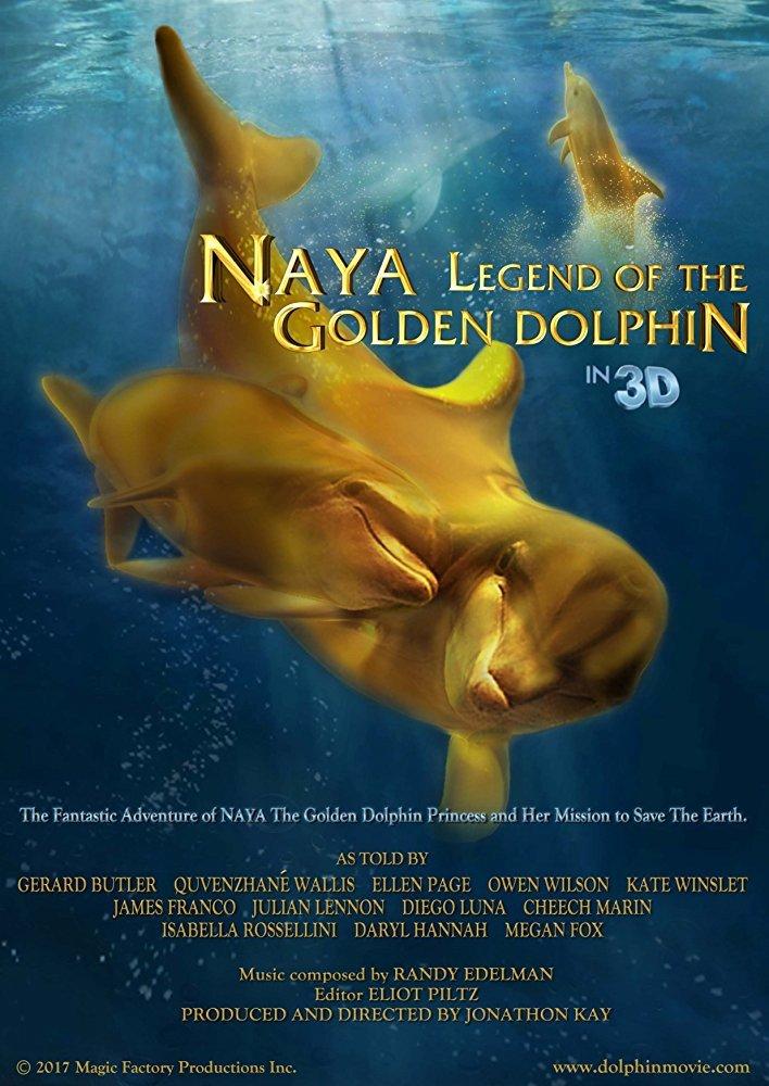Постер фильма Naya Legend of the Golden Dolphin 2022