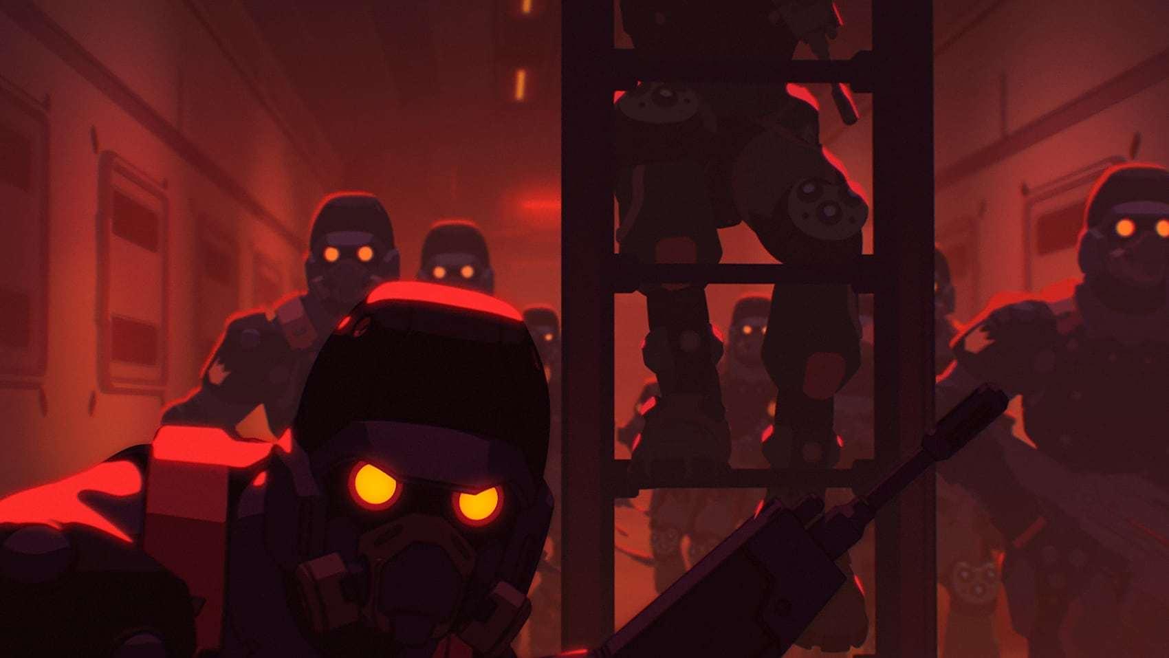 Кадры из фильма Любовь, смерть и роботы Love, Death & Robots 2019