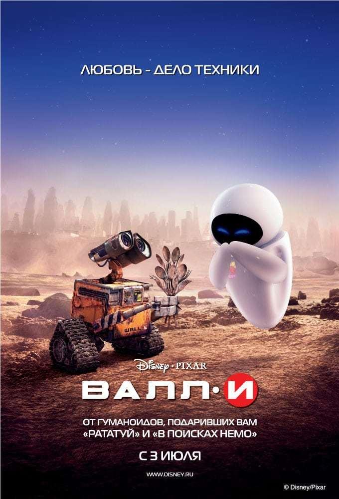 Постер фильма ВАЛЛ·И 2008