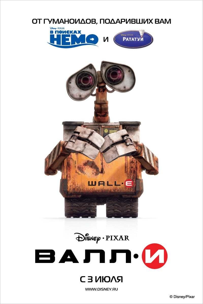 Постер фильма ВАЛЛ·И WALL·E 2008