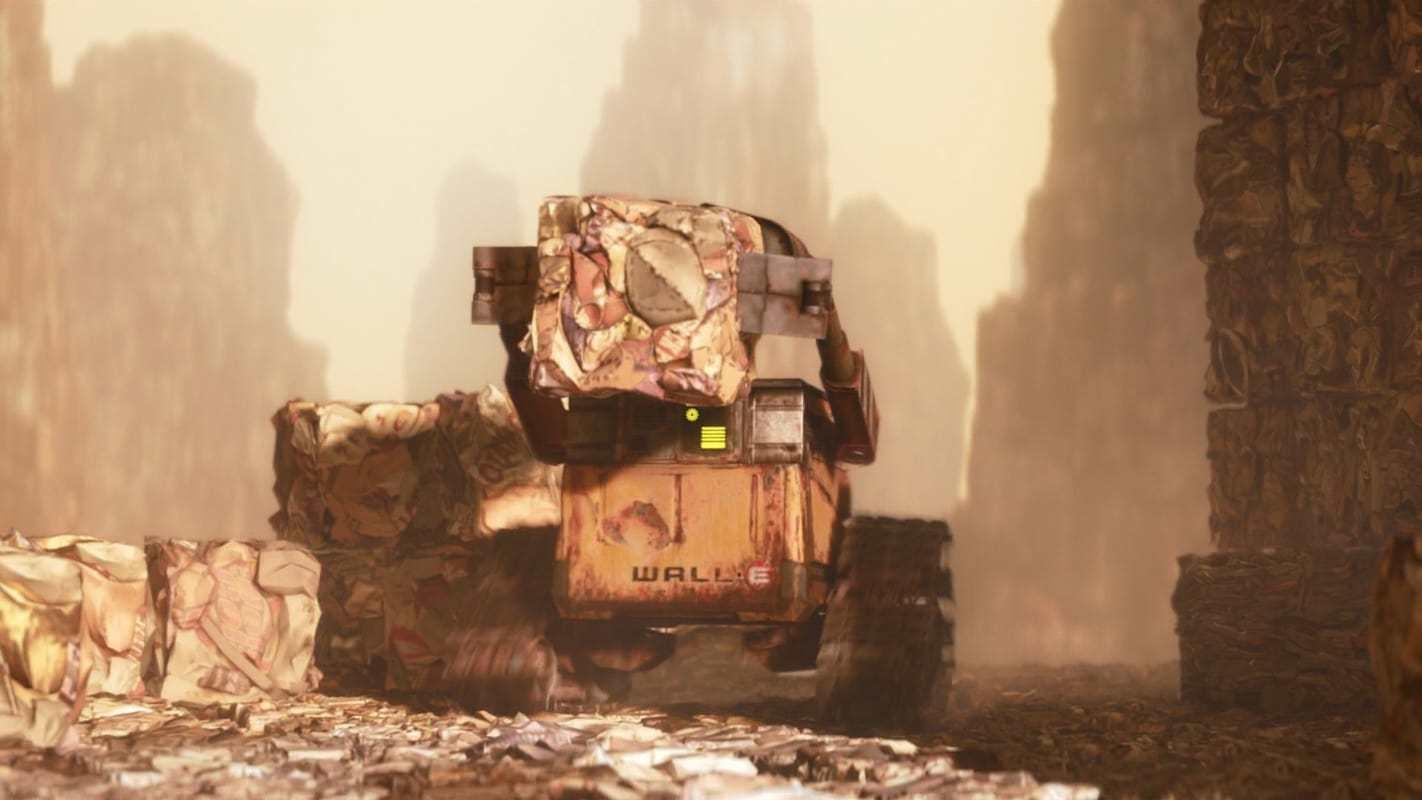 Кадры из фильма ВАЛЛ·И WALL·E 2008