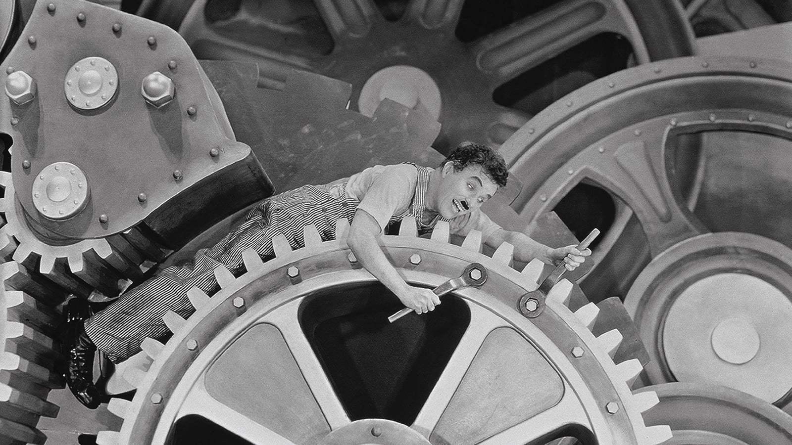 Кадры из фильма Новые времена Modern Times 1936