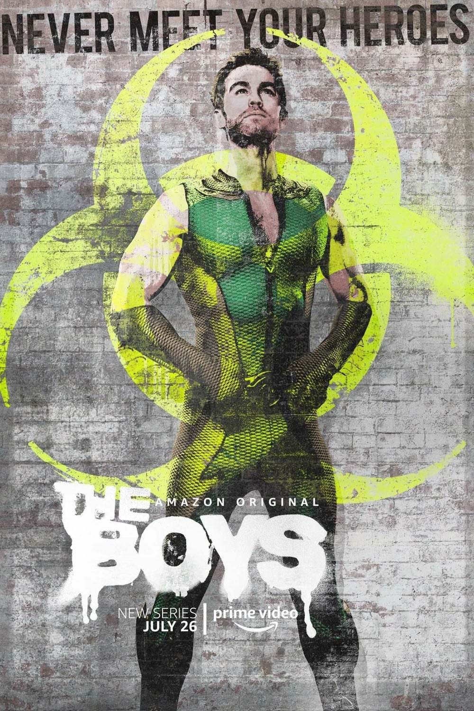 Постер фильма Пацаны The Boys 2019