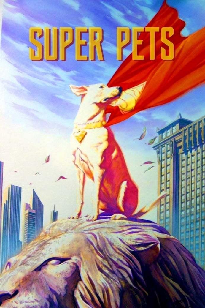 Постер фильма Супер-питомцы 2022