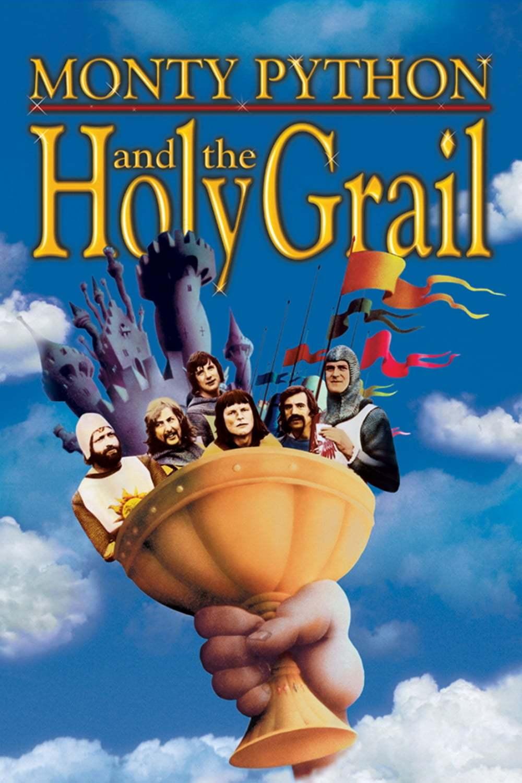 Постер фильма Монти Пайтон и священный Грааль 1975