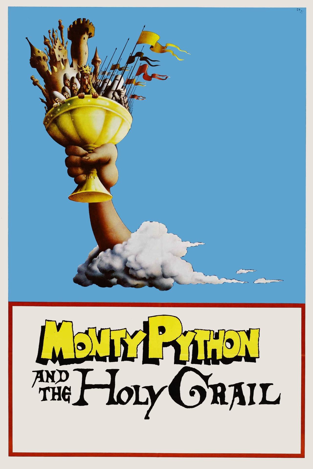 Постер фильма Монти Пайтон и священный Грааль Monty Python and the Holy Grail 1975