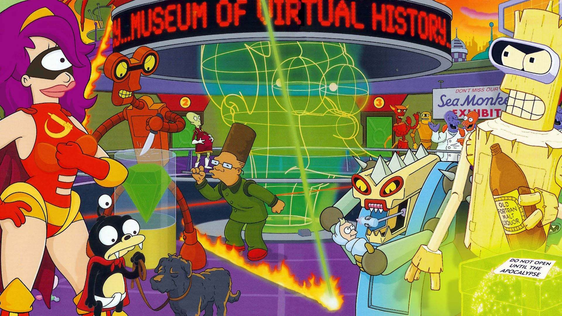Кадры из фильма Футурама Futurama 1999