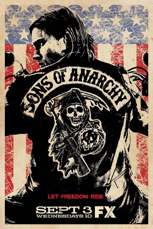 Постер фильма Сыны анархии Sons of Anarchy 2008