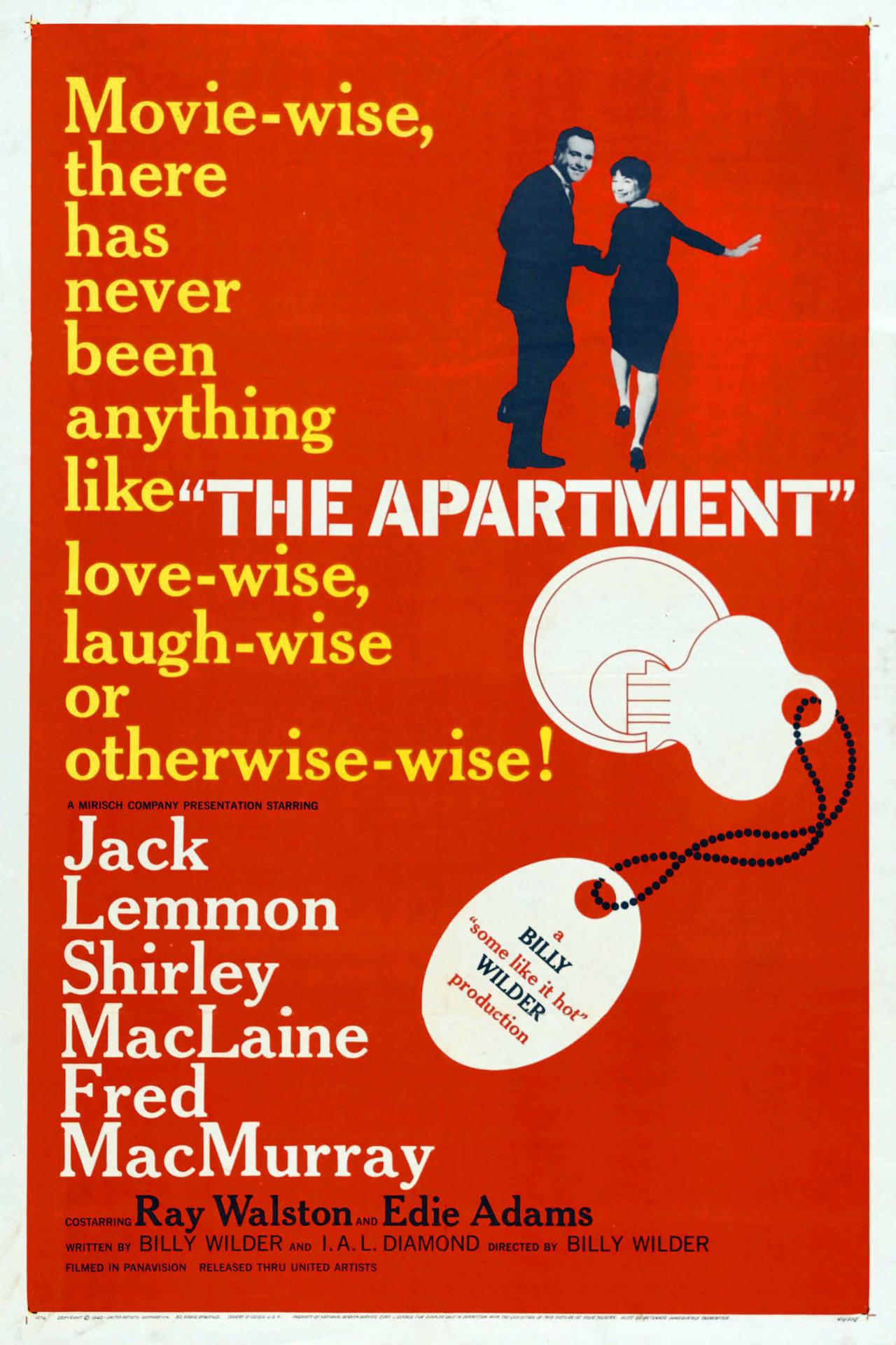Постер фильма Квартира 1960