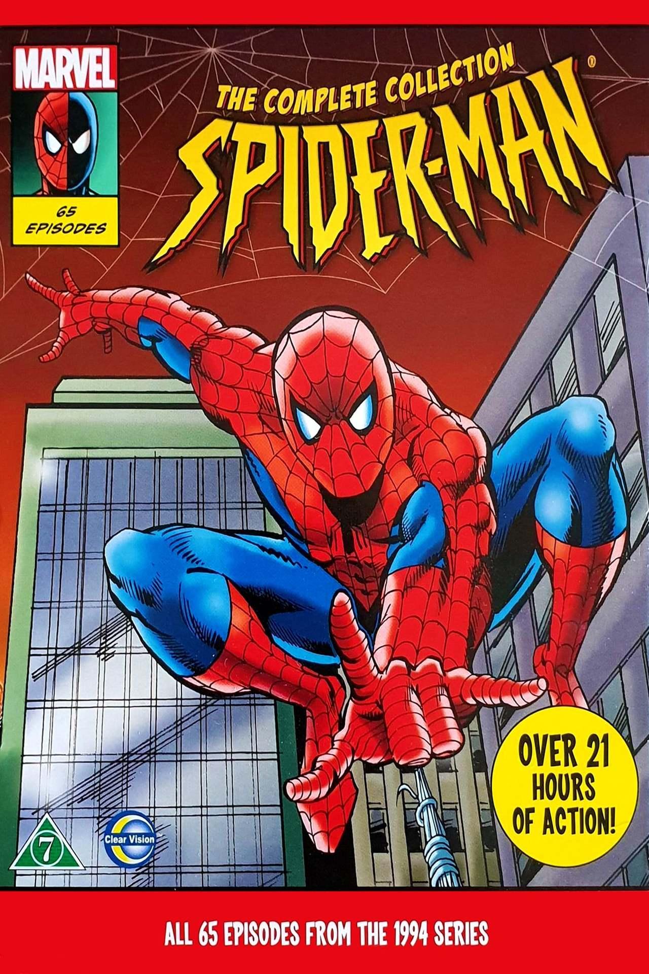 Постер фильма Человек-паук 1994