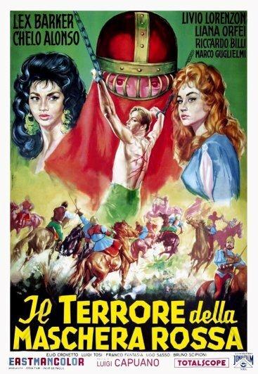 Постер фильма Ужас красной маски 1960