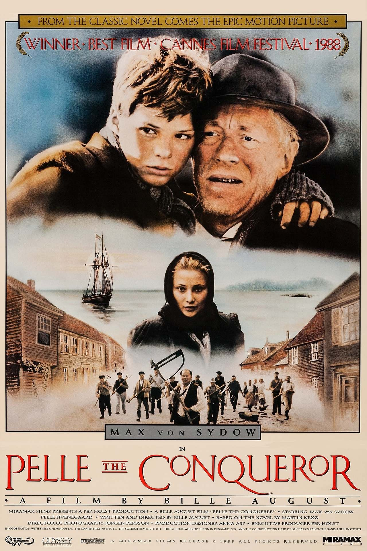 Постер фильма Пелле-завоеватель 1987