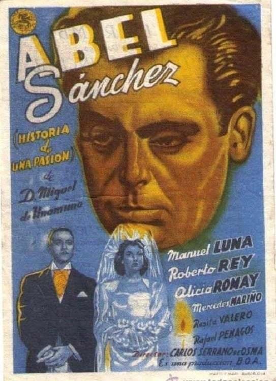 Постер фильма Abel Sánchez 1947