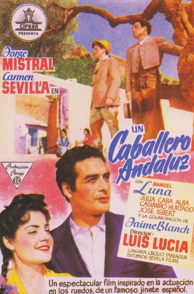 Постер фильма Un caballero andaluz 1954