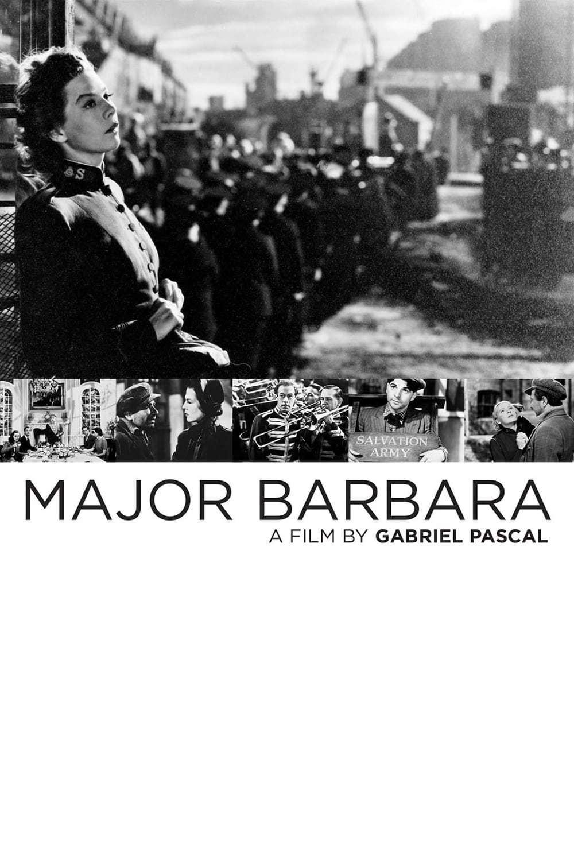 Постер фильма Майор Барбара 1941