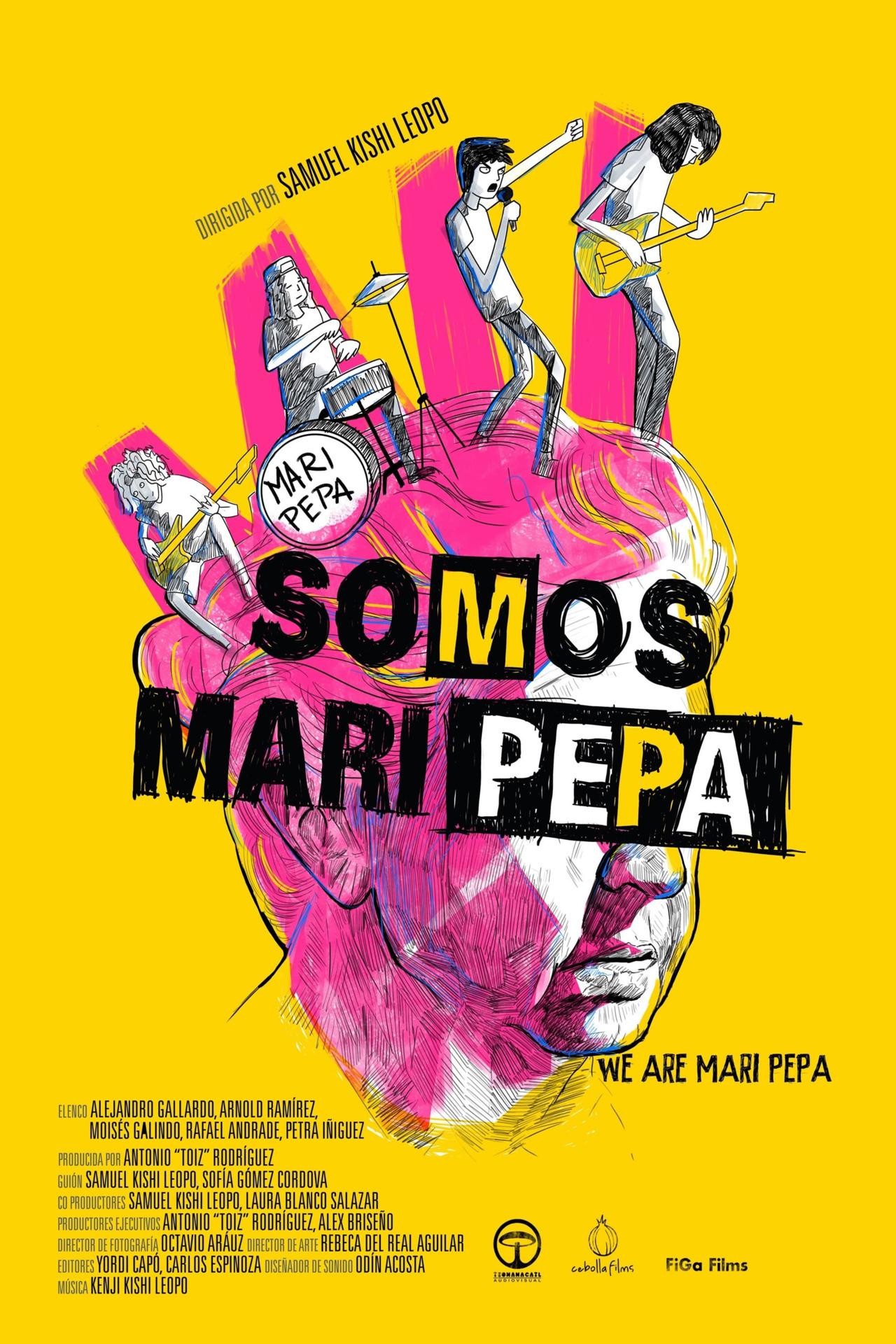 Постер фильма Somos Mari Pepa 2013
