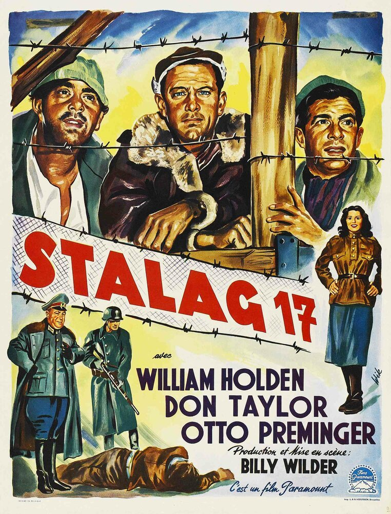 Постер фильма Лагерь для военнопленных №17 1952