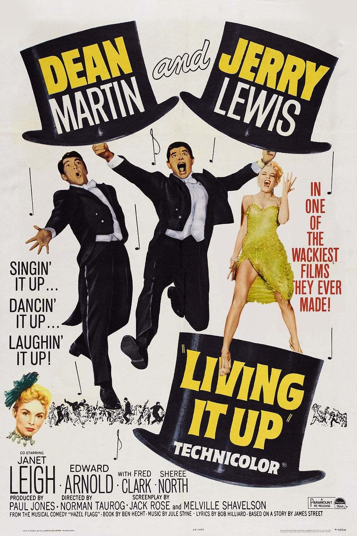 Постер фильма Прожигая жизнь Living It Up 1954