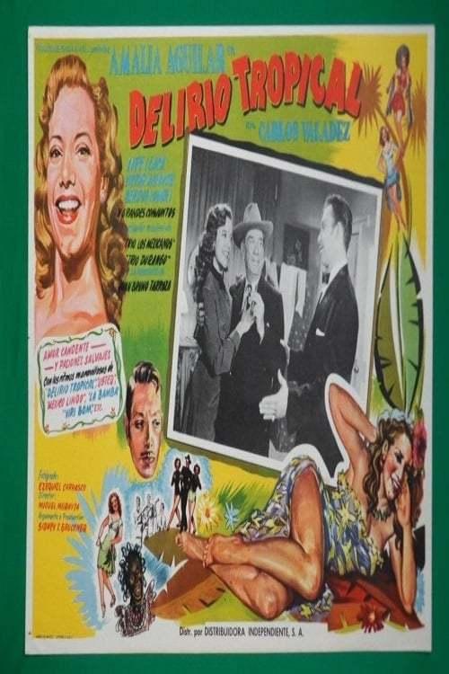 Постер фильма Delirio tropical 1952