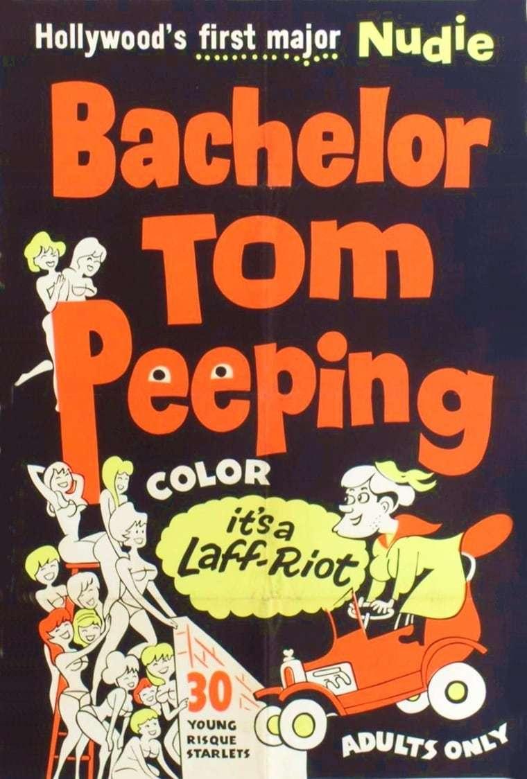 Постер фильма Bachelor Tom Peeping 1962
