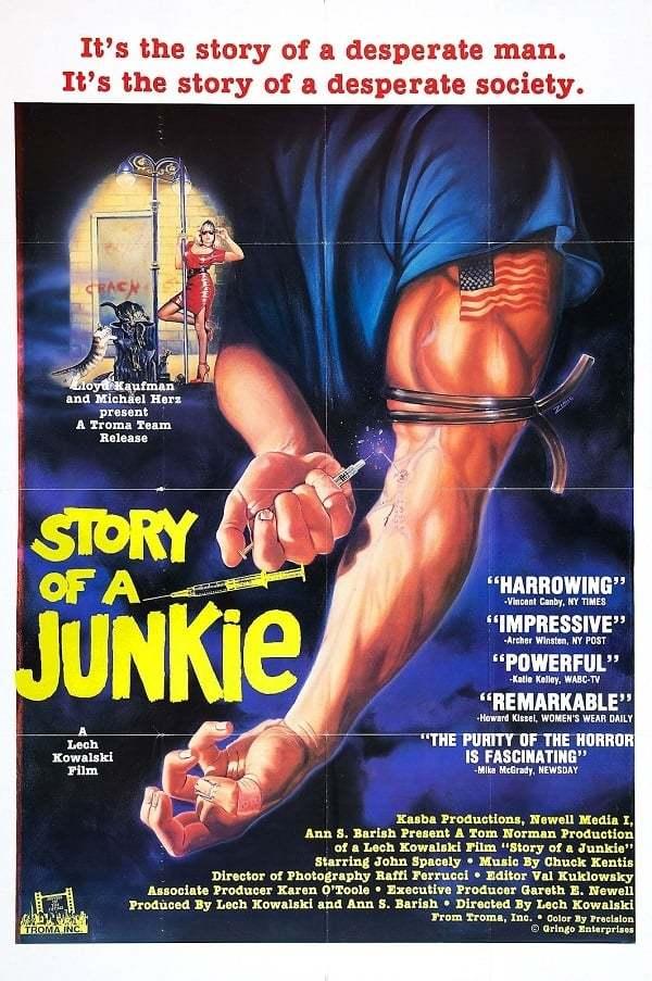 Постер фильма История героинщика 1987