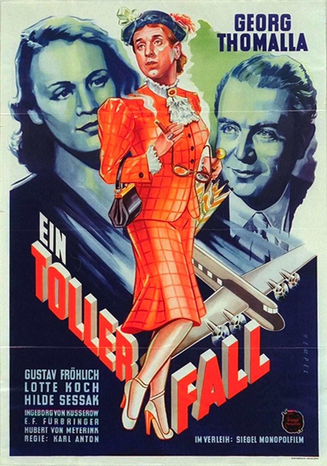 Постер фильма Der große Fall 1949