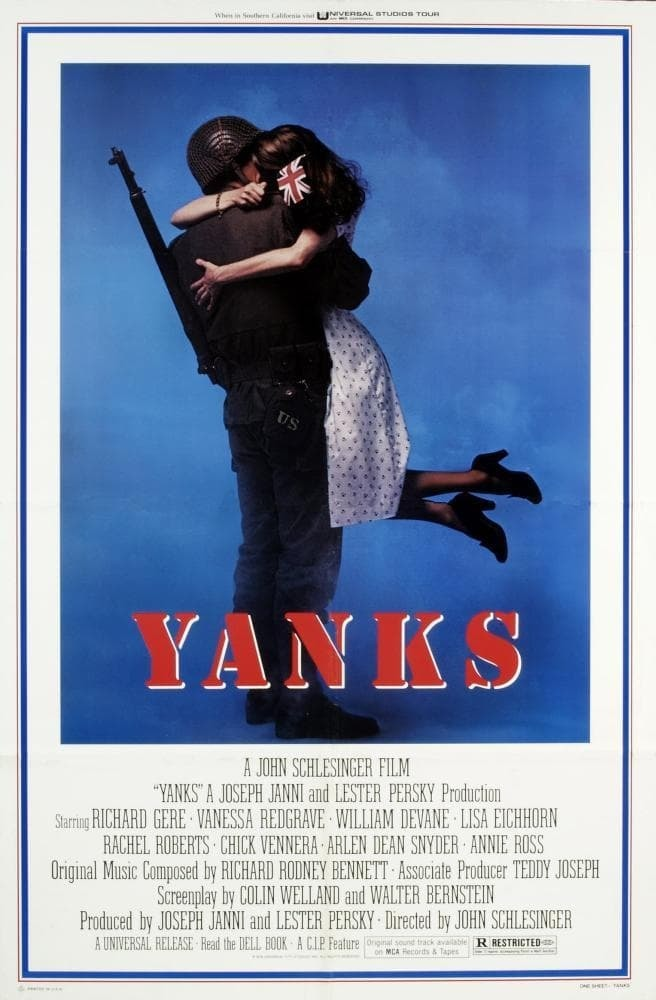 Постер фильма Янки Yanks 1979