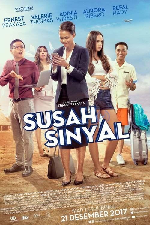 Постер фильма Susah Sinyal 2017