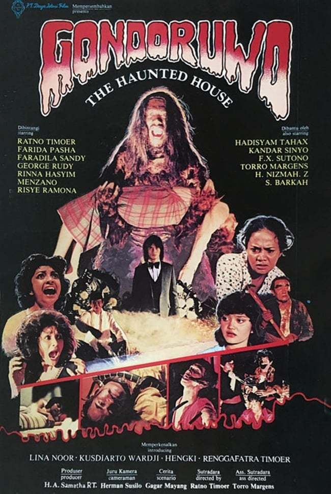 Постер фильма Gondoruwo 1981