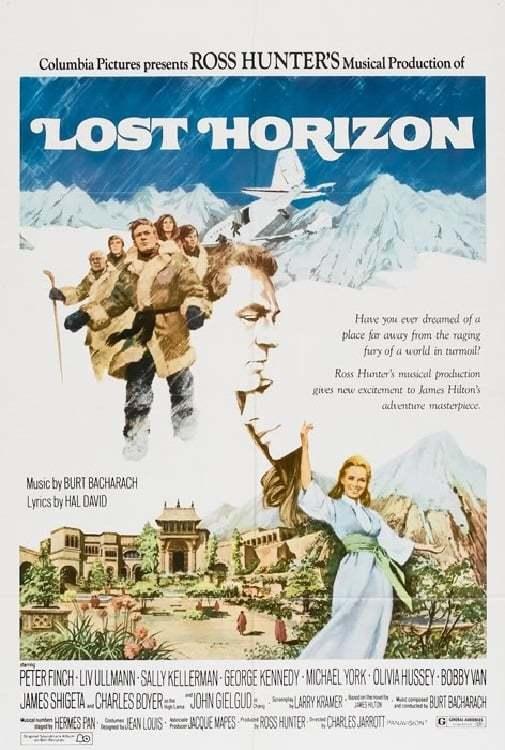 Постер фильма Потерянный горизонт 1973