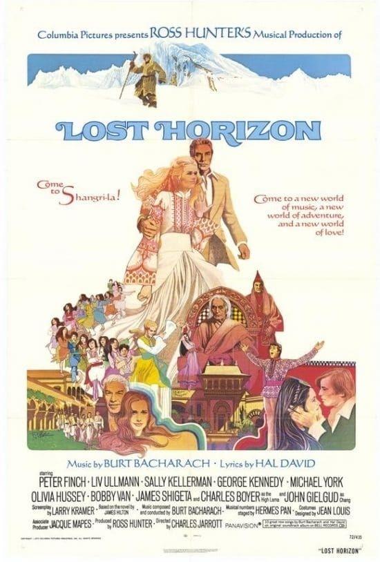 Постер фильма Потерянный горизонт Lost Horizon 1973