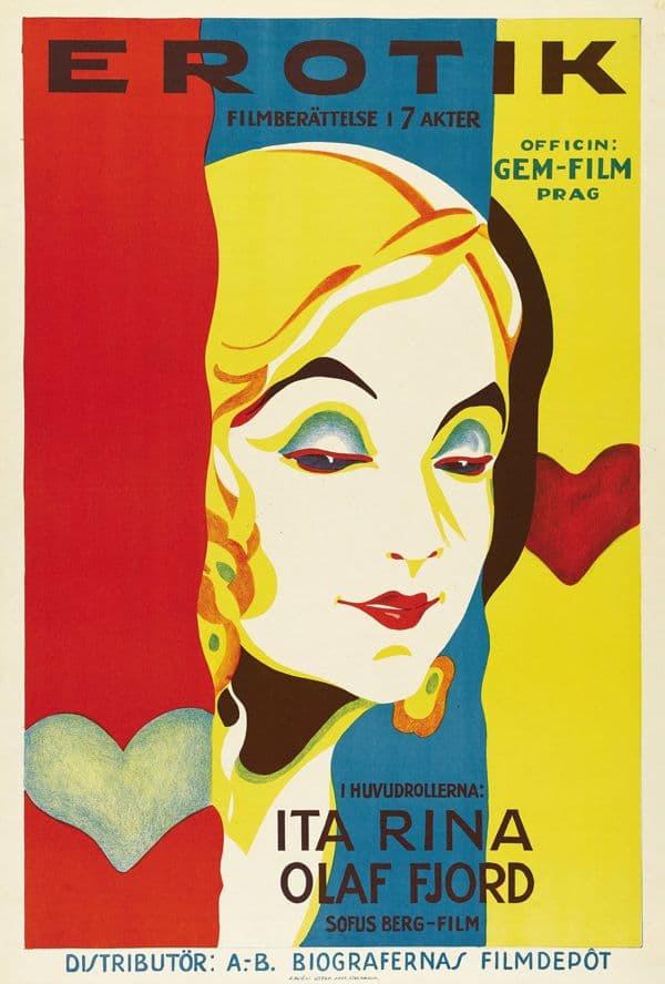Постер фильма Эротикон 1929