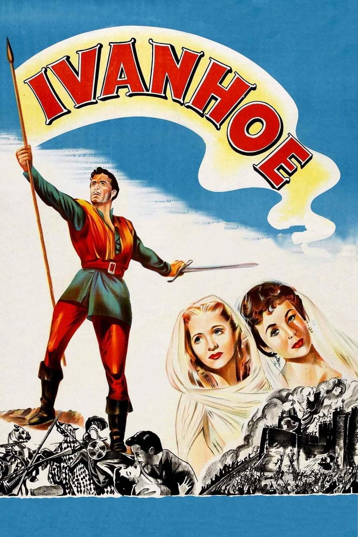 Постер фильма Айвенго 1952