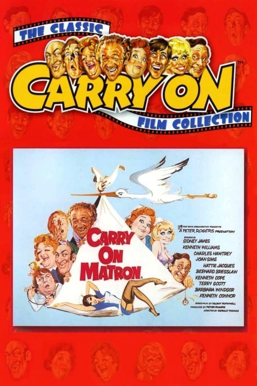 Постер фильма  Carry on Matron 1972